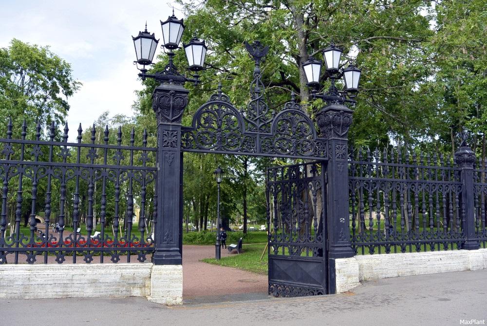 видели когда-нибудь фото кронштадтской решетки советского парка его разработок